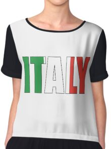 Italy Chiffon Top
