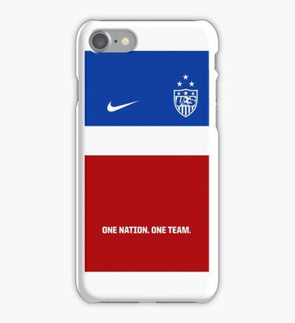 USWNT 2014 Jersey iPhone Case/Skin