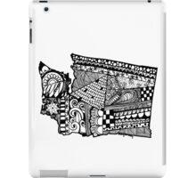 Washington ZenDoodle iPad Case/Skin