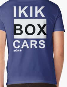 IKIKBOXCARS (inverted) Mens V-Neck T-Shirt