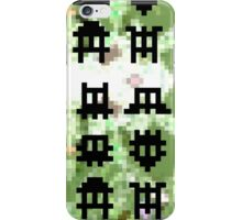 Pixel Invaders - Retro Pixelart Space Ships iPhone Case/Skin