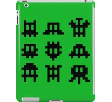 Pixel Invaders - Retro Pixelart Space Ships iPad Case/Skin