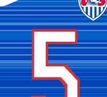 USWNT 2015 Away Jersey Kelley O'Hara Sticker
