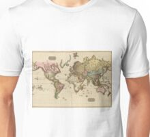 World Map (1812) Unisex T-Shirt