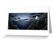 Cliffwatcher Greeting Card