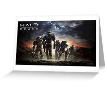 Halo Reach - Noble Team Greeting Card
