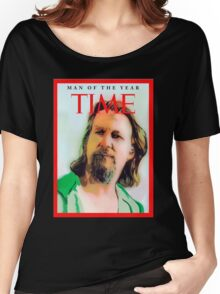 Time's Man of the year - The Big Lebowski Women's Relaxed Fit T-Shirt