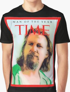 Time's Man of the year - The Big Lebowski Graphic T-Shirt
