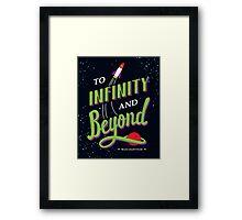 Buzz Lightyear Print Framed Print
