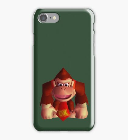 Donkey Kong 64 iPhone Case/Skin
