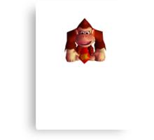 Donkey Kong 64 Canvas Print