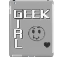 GEEK GIRL - Vampire iPad Case/Skin