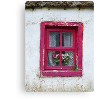 Thatch And Lace Canvas Print