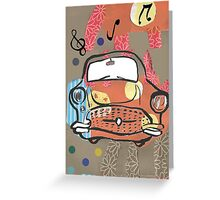 Cabaret Car ! Greeting Card