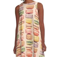 J'aime Macarons! A-Line Dress