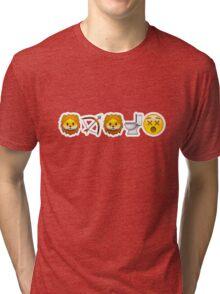 Game of Emojis: Tywin Lannister (emojis only) Tri-blend T-Shirt