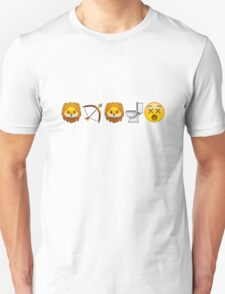 Game of Emojis: Tywin Lannister (emojis only) Unisex T-Shirt