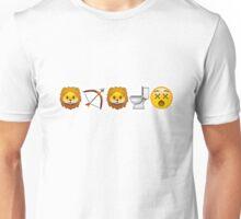 Game of Emojis: Tywin Lannister (emojis only) Unisex T-Shirt
