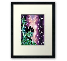 Gon Freecs (flowers) Framed Print