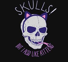 Skulls and Kittens Unisex T-Shirt