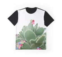 Floral succulent Graphic T-Shirt