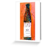 Maine Lunch IPA beer bottle Greeting Card