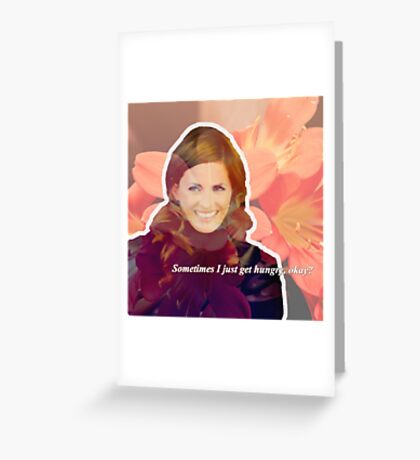 STANA KATIC, QUOTE #2 Greeting Card