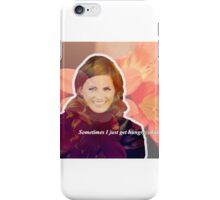 STANA KATIC, QUOTE #2 iPhone Case/Skin