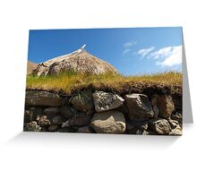 Blackhouse Museum Wall Greeting Card
