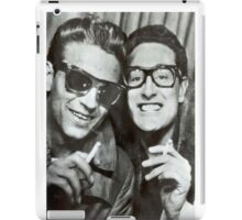 Buddy Holly and Waylon Jennings iPad Case/Skin
