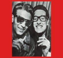 Buddy Holly and Waylon Jennings One Piece - Short Sleeve