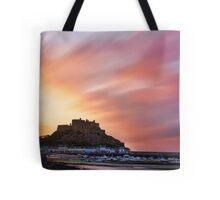 Gorey Castle Sunrise Tote Bag