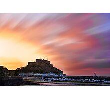 Gorey Castle Sunrise Photographic Print