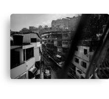 Viertel in Caracas Canvas Print