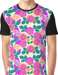 Carnation Garden Graphic T-Shirt
