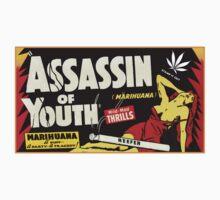 Assassin of Youth - marijuana shirt Kids Tee