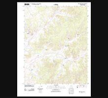 USGS TOPO Map Arizona AZ Red Slide Peak 20111109 TM Unisex T-Shirt