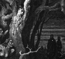 Brute Harpies – Dante's Inferno (Alighieri, Dante) Sticker