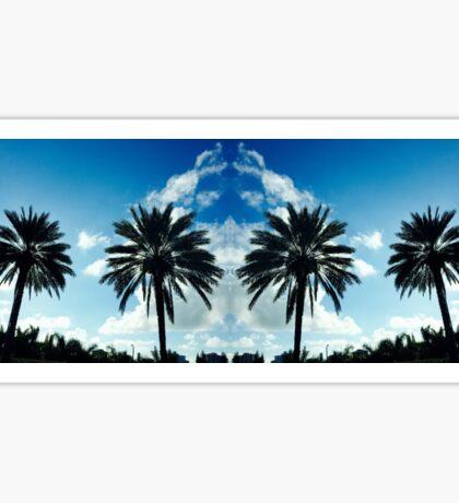 Miami Palm Trees Sticker