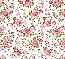 Luxurious color peony seamless pattern by Kotkoa