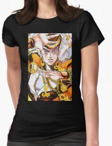 Jojo's Bizarre Adventure - Josuke Joestar Womens Fitted T-Shirt
