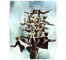 Exo Tree Drawing Poster