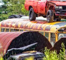 scrapyard rodeo Sticker