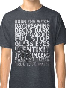 Radiohead - A Moon Shaped Pool Album Song List T-Shirt #1 Classic T-Shirt