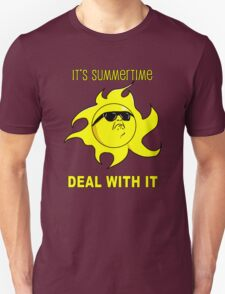 Summertime Sun - Deal with It T-Shirt