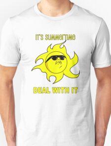 Summertime Sun - Deal with It T-Shirt