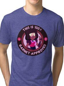 100% Garnet approved Tri-blend T-Shirt