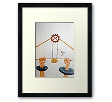 The vulnerable part of mechanisms Framed Print