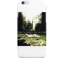 STANA KATIC, QUOTE #3 iPhone Case/Skin
