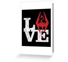 Love Skyrim Greeting Card